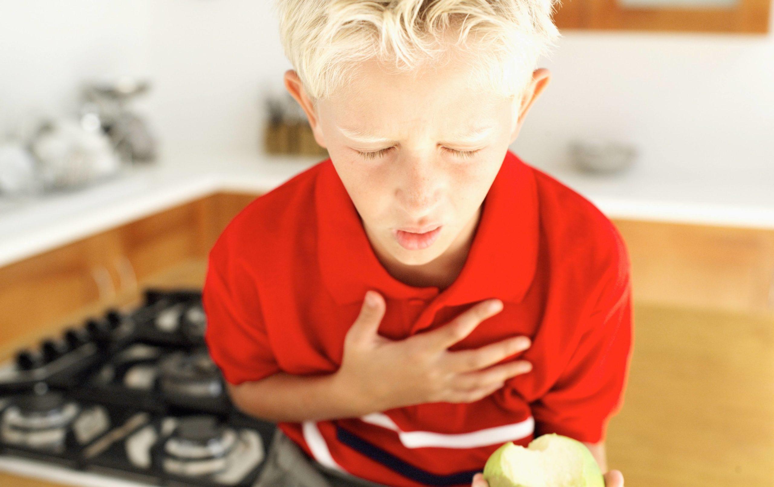 Que faire si votre enfant s'étouffe