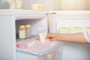 allaitement congélation lait maternel