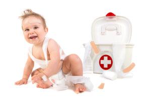 trousse de soins bébé