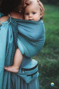 Porte-bébé avec deux anneaux