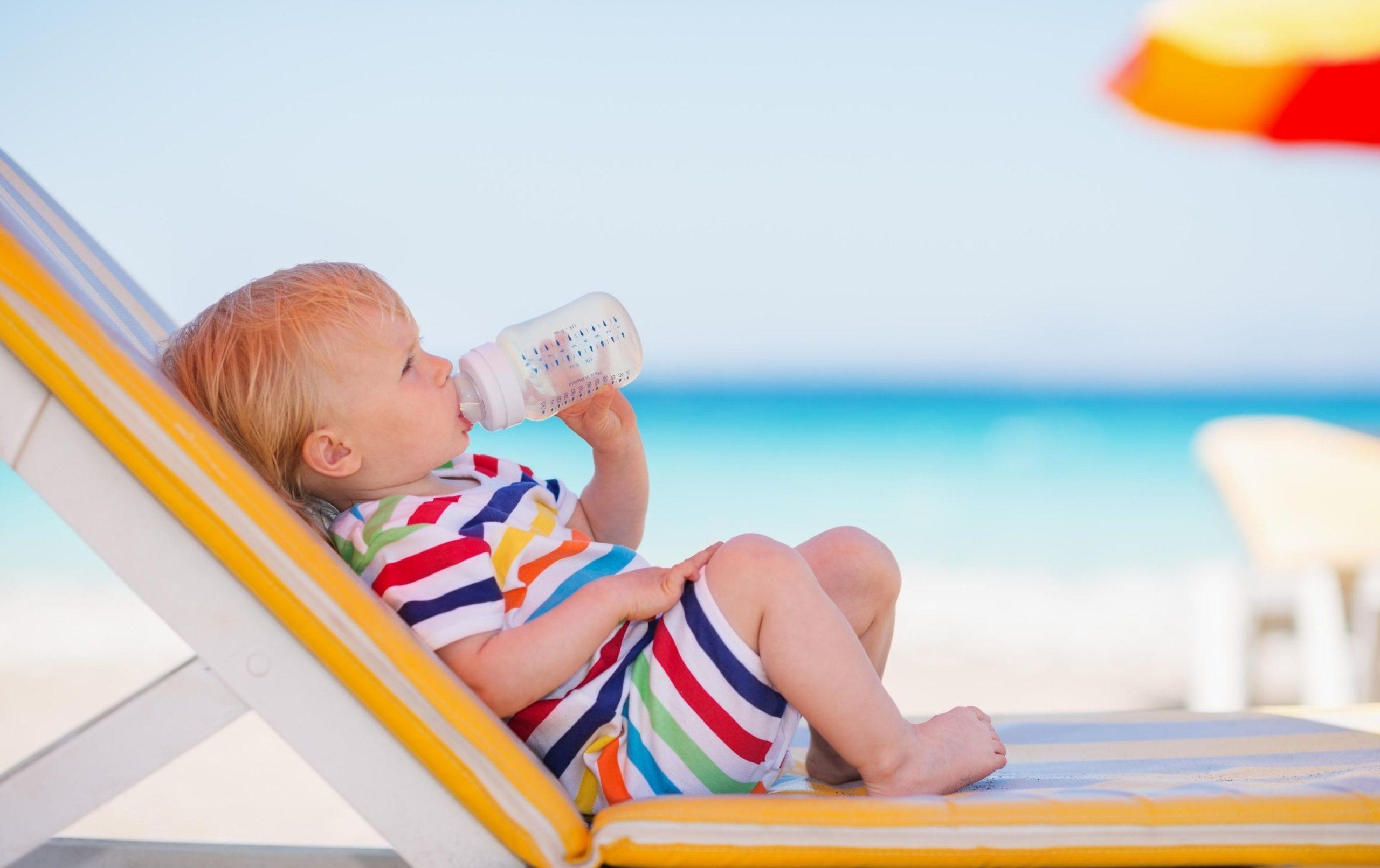 L'été notamment il peut être important d'hydrater son bébé