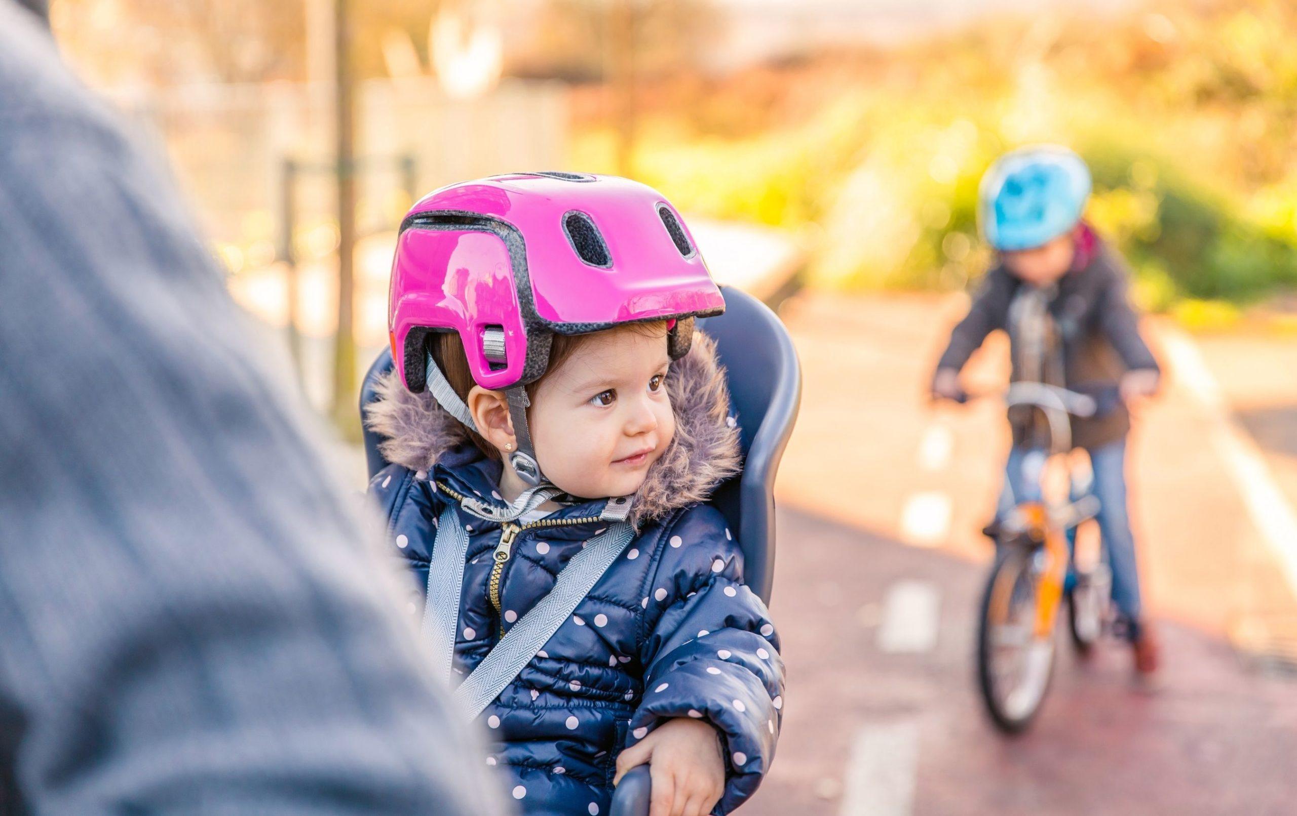 Se déplacer à vélo avec un enfant