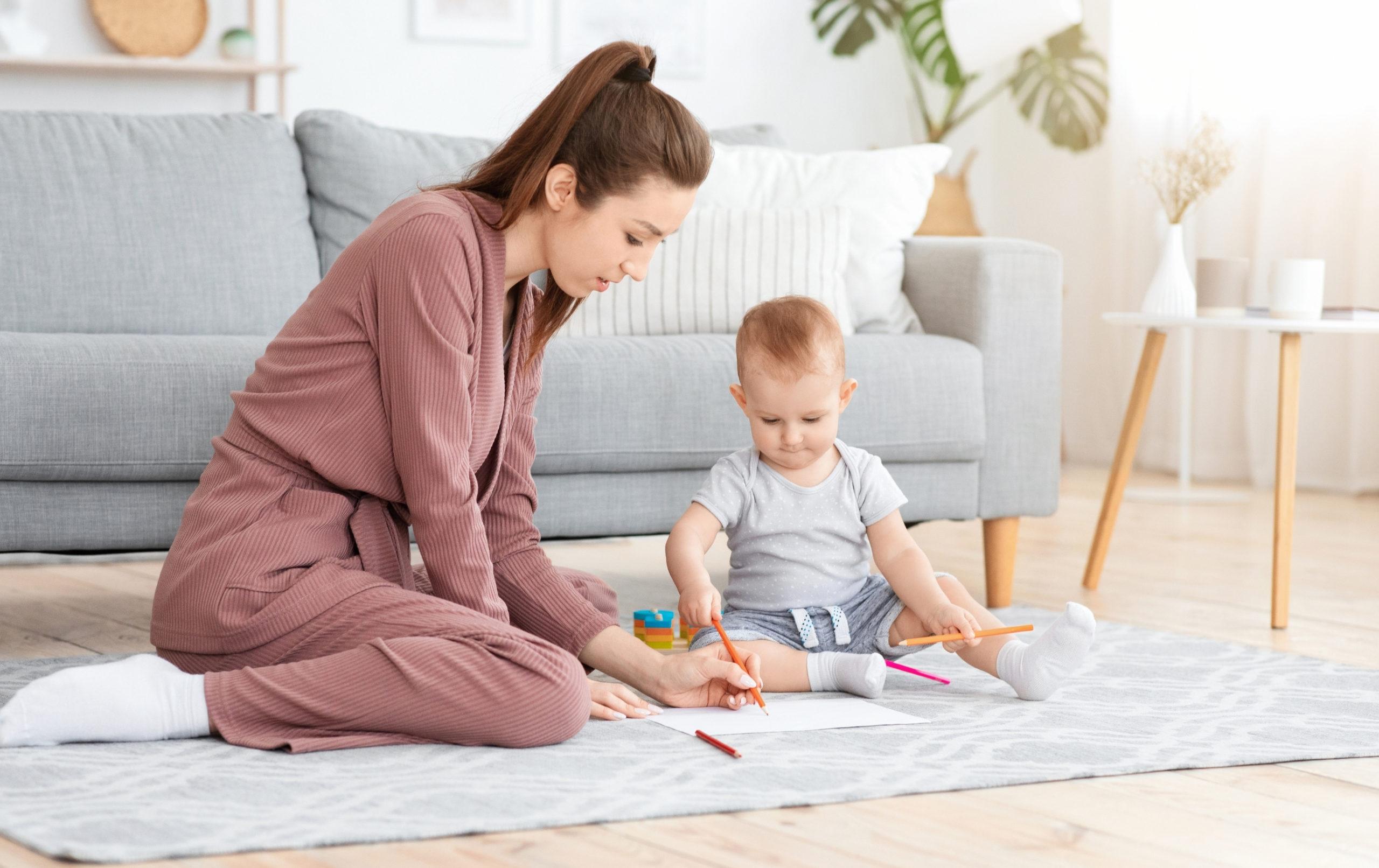 activités avec bébé 6-12 mois