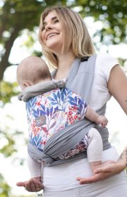 Mode de portage bébé peu encombrant